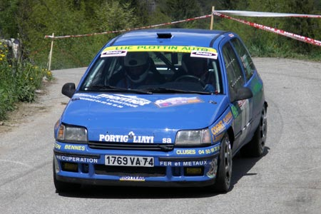 Rallye du Beaufortain 2005 - #  4 - Renault Clio RSI [1CA]