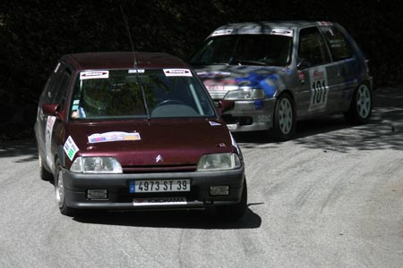 Photo Rallye du Suran 2007 - #  9 - Peugeot 309 Evo [2BA]