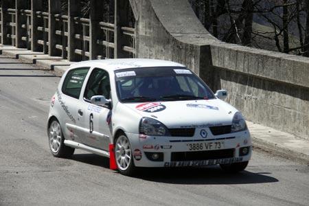 Rallye du Pays de Faverges 2005 - #  6 - Renault Clio RS [1BA]