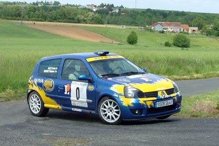 Rallye de la Vallée du Cher 2005 - #  0 - Renault Clio Ragnotti [1A]