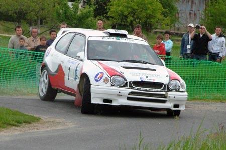 Rallye de la Vallée du Cher 2005 - #  1 - Toyota Corola WRC [1A]