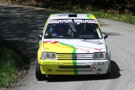 Photo Rallye Ain-Jura 2005 - # 10 - Ford Puma Super 1600 [1AA]