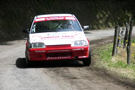 Rallye de l'Épine - Mont du Chat 2005 - #126 - Citroën AX Sport [1BA]