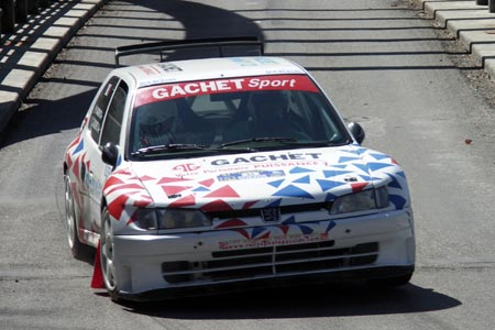 Rallye du Pays de Faverges 2005 - # 45 - Peugeot 306 Maxi [1BA]