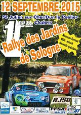 Rallye jardins de sologne